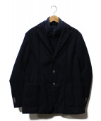 HYDROGEN(ハイドロゲン)の古着「レイヤードジャケット」|ネイビー
