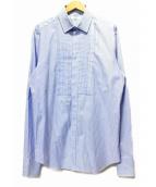 VALENTINO(ヴァレンティノ)の古着「ストライプロングシャツ」