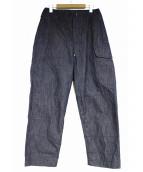 anachronorm(アナクロノーム)の古着「Indigo Chino Combat Pants」