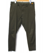 BROWN by 2-tacs(ブラウン バイ ツータックス)の古着「パンツ」|オリーブ