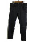 JohnUNDERCOVER(ジョンアンダーカバー)の古着「ストレッチパンツ」|グレー