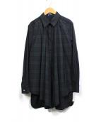 IMPRESSION ATSURO TAYAMA(インプレッションアツロウタヤマ)の古着「チェック切替シャツワンピース」