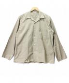 AURALEE(オーラリー)の古着「SELVEDGE WEATHER CLOTH SHIRTS」