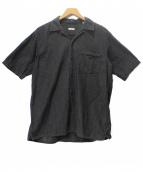 COMOLI(コモリ)の古着「ベタシャン オープンカラーシャツ」