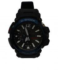 CASIO G-shock (カシオ ジーショック) GRAVITYMASTER ブラック×ネイビー サイズ:下記参照 G-SHOCK GPW-2000 電波ソーラー  Bluetooth内蔵