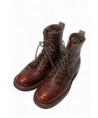 WHITES BOOTS(ホワイツ ブーツ)の古着「SEMI-DRESSプレーントゥブーツ」|ブラウン
