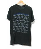 ROLLINGSTONES(ローリングストーンズ)の古着「North American Tour Print T-Sh」|ブラック