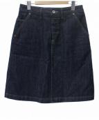 MHL.(エムエイチエル)の古着「CANTON DENIMスカート」|インディゴ