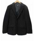 agnes b homme(アニエスベーオム)の古着「JBF3 VESTEノッチドラペルジャケット」|ブラック
