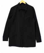COMME des GARCONS HOMME(コムデギャルソンオム)の古着「ハーフステンカラーコート」