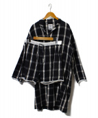 NOWHAW×BOOK AND BED(ノウハウ×ブックアンドベッド)の古着「day long pajama」