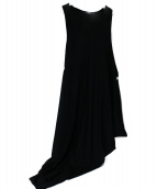 LIMI feu(リミフゥ)の古着「ノースリーブワンピース」 ブラック