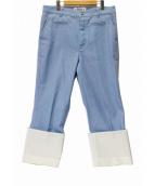 LOEWE(ロエベ)の古着「フィッシャーマンデニムパンツ」|ブルー