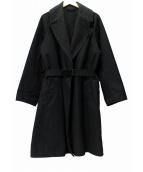 COMOLI(コモリ)の古着「タイロッケンコート」 ブラック