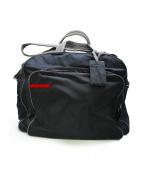 PRADA SPORTS(プラダスポーツ)の古着「ナイロン2WAYボストンバッグ」|ブラック
