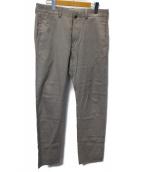 YAECA(ヤエカ)の古着「SLIM CHINO PANTS」 ベージュ