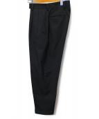 Paul Smith(ポールスミス)の古着「タックワイドパンツ」 ブラック