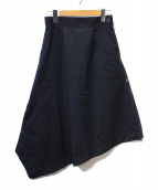 HYKE(ハイク)の古着「アシンメトリースカート」