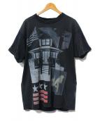 GIVENCHY(ジバンシー)の古着「アメリカンハウスプリントTシャツ」|ブラック