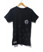 CHROME HEARTS(クロムハーツ)の古着「ロゴプリントTシャツ」|ブラック