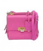 BALENCIAGA()の古着「2WAYショルダーバッグ」 ピンク