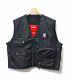 032c(032シー)の古着「Cosmic Workshop Pocket Vest」|ブラック