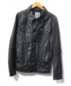 G-STAR RAW(ジースターロゥ)の古着「SLIM TAILOR JKT」|ブラック