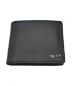 agnes b(アニエスベ)の古着「2つ折り財布」|ブラック