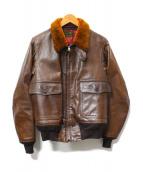 THE REAL McCOYS(ザ・リアルマッコイズ)の古着「M-422A US NAVYフライトジャケット」 ブラウン