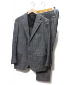 TAGLIATORE(タリアトーレ)の古着「2Bセットアップスーツ」|グレー