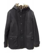 HYDROGEN(ハイドロゲン)の古着「ライナー付コート」|ブラック