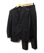 TAKEO KIKUCHI(タケオキクチ)の古着「2Bセットアップスーツ」|ブラック
