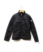 MONCLER(モンクレール)の古着「Mキルトダウンジャケット」|ブラック