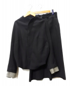 YOHJI YAMAMOTO(ヨウジヤマモト)の古着「セットアップ」|ブラック