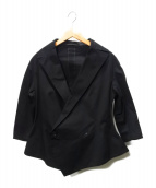 YOHJI YAMAMOTO(ヨウジヤマモト)の古着「1Bジャケット」|ブラック