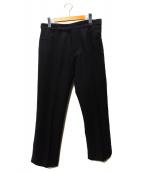 YOHJI YAMAMOTO(ヨウジヤマモト)の古着「ウールトラウザーパンツ」|ブラック