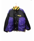 FILA(フィラ)の古着「オールドスポーツジャケット」 パープル