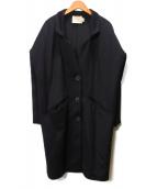 AERON(アーロン)の古着「チェスターコート」|ブラック