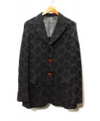 COMME des GARCONS HommePlus(コムデギャルソンオムプリュス)の古着「3Bジャケット」|ブラック