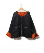 NEHERA(ネヘラ)の古着「リバーシブルジャケット」|ブラック