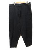 YANTOR(ヤントル)の古着「Amunzen Cotton Himo Pants」|ブラック