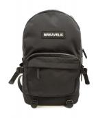 MAKAVELIC(マキャベリック)の古着「ナイロンバックパック」|ブラック