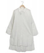 GARAGE OF GOOD CLOTHING(ガレージオブグッドクロージング)の古着「サイドスリットシャツ」|ホワイト