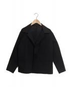 YOHJI YAMAMOTO(ヤマモトヨウジ)の古着「フロントオープンシャツジャケット」|ブラック