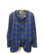 nemeth(ネメス)の古着「タータンチェックジャケット」|グリーン