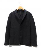 HARRIS WHARF LONDON(ハリスワーフロンドン)の古着「3Bウールジャケット」|グレー