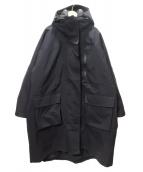 FRAY ID(フレイアイディー)の古着「ライナー付マウンテンコート」 ブラック