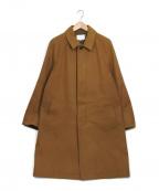 URBAN RESEARCH()の古着「サーモライトメルトンステンカラーコート コート」 ブラウン
