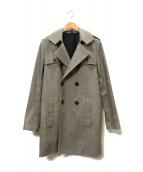 Dior Homme(ディオール オム)の古着「Pコート」 グレー