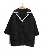 HIROKO HAYASHI(ヒロコ ハヤシ)の古着「LISCIO(リーショ) コート」 ブラック
